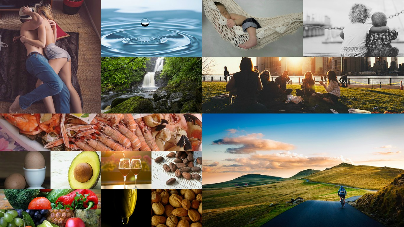 distintas imagenes estilo de vida PNI