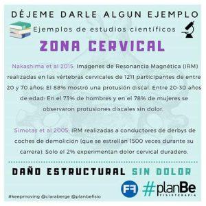 infografia sobre cervicales
