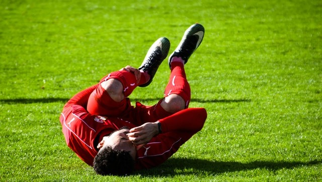 lesiones en futbol