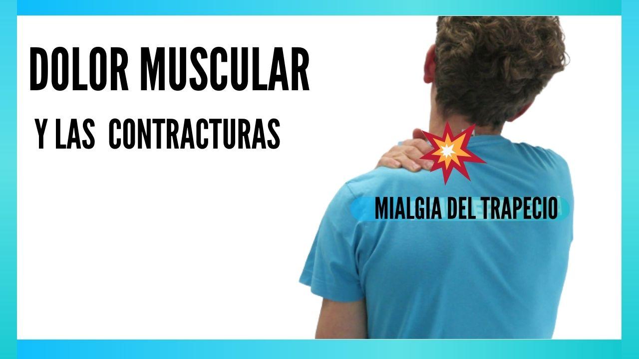 dolor muscular y contracturas